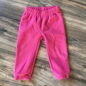 Baby Girl's North Face Glacier Fleece Pants
